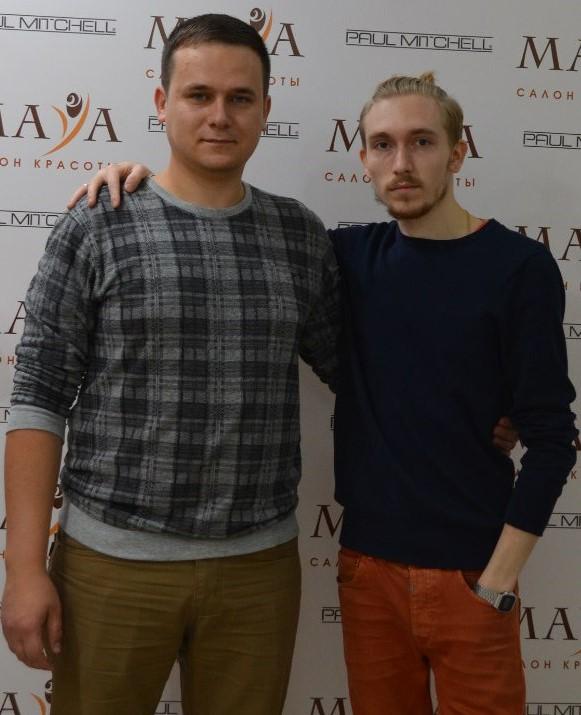 Сергей Тишков и Павел Калашников