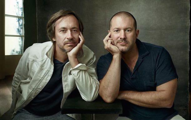 Два самых крутых дизайнера современности (слева Марк Ньюсон)
