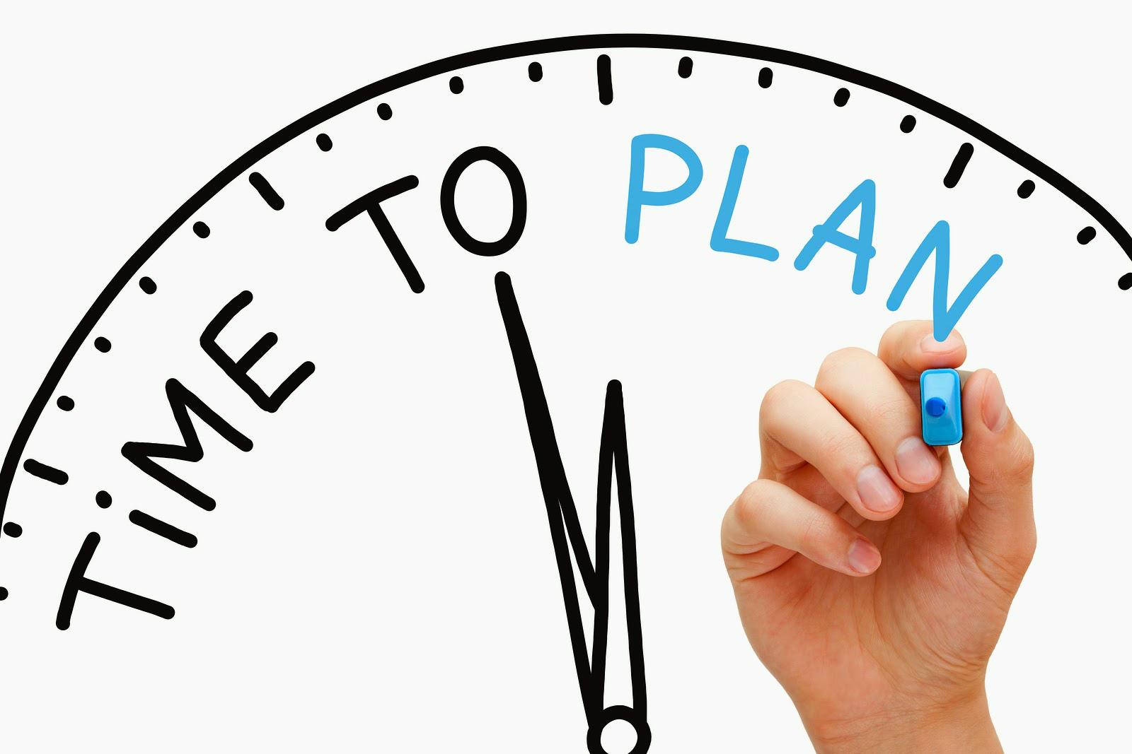 Настало время планировать!